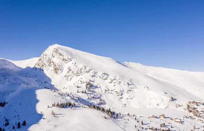 Núi Falkert (Carinthia, Áo)- nơi xảy ra vụ việc. Ảnh: Dailymail