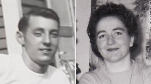Fred Paul và Florence Harvey khi họ còn trẻ. Ảnh: CNN.