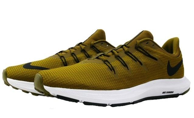 Giày chạy bộ nam Nike Quest AA7403-301 thu hút với kiểu dáng năng động, trẻ trung. Màu xanh rêu độc đáo, cá tính, mang đến dáng vẻ mới lạ cho phái mạnh. Lót giày êm ái kết hợp cùng đế cao su hạn chế trơn trượt. Sản phẩm giảm 30%, có giá 1,455 triệu đồng.
