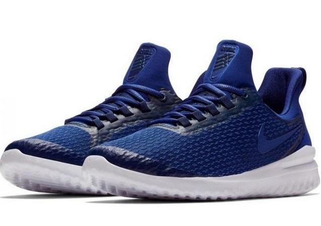 Giày chạy bộ Nike Renew Rival AA7400-401 màu xanh navy với chất liệu vải lưới thoáng khí giúp tôn cá tính cho phái mạnh. Thiết kế lưỡi gà cùng phần gót dài, giúp dễ mang và cởi giày. Mũi giày nhọn, hơi hướng lên giúp người mang dễ di chuyển hơn khi chạy bộ hoặc chơi thể thao.