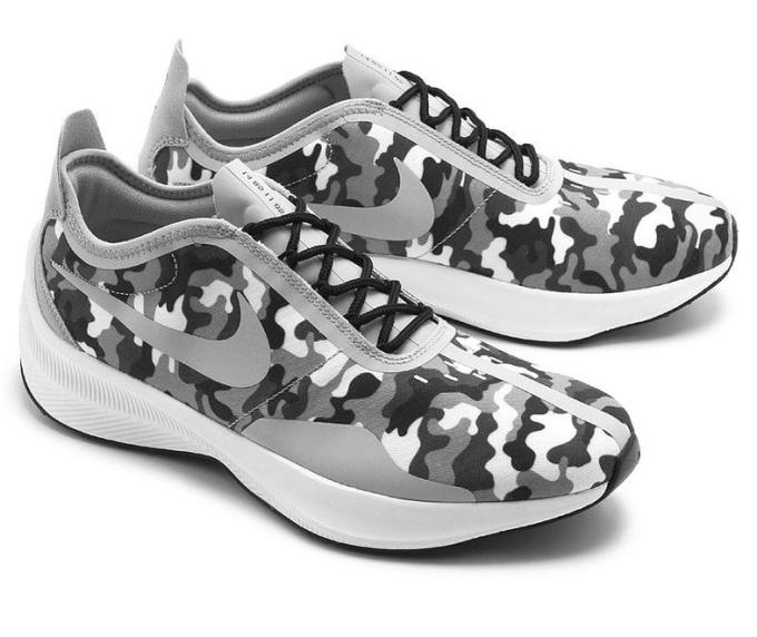 Giày thời trang thể thao nam Nike EXP-Z07 SE AO3093-001 nổi bật với họa tiết rằn ri cùng tông màu chủ đạo xám - trắng. Thiết kế giả cột dây giúp bạn dễ dàng mang, cởi giày nhanh chóng. Đế giày làm từ cao su với các rãnh chống trượt, đồng thời hỗ trợ nâng đỡ khi chạy bộ, tập luyện thể dục thể thao. Đường may tỉ mỉ cùng chất liệu thoáng khí tạo cảm giác thoải mái, tự tin cho người mang.