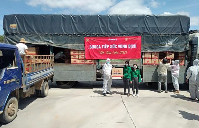 Hình ảnh trao quà tài trợ cho y bác sĩ tại xã, huyện nào của tỉnh Gia Lai vào tháng 2. XIN CỤ THỂ