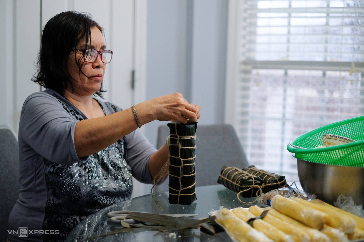 Tết của gia đình người Việt ở Mỹ
