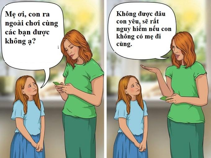 Nhưng sai lầm của bố mẹ ảnh hưởng đến tương lai của con