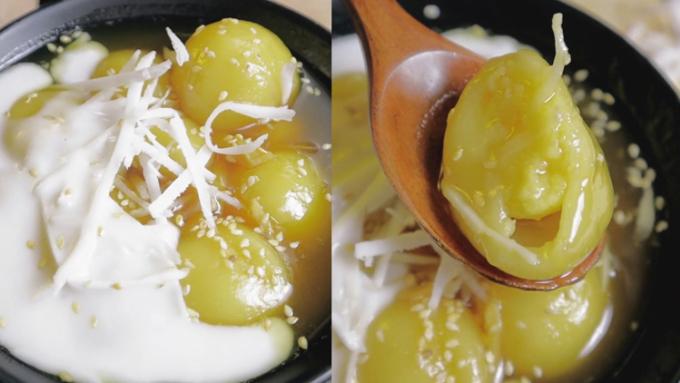 Chè trôi nước được nhắc đến một cách trân trọng trong văn hóa ẩm thực dân gian Việt Nam và không thể thiếu trong dịp lễ cúng bái của người dân. Ảnh: Trần Hảo
