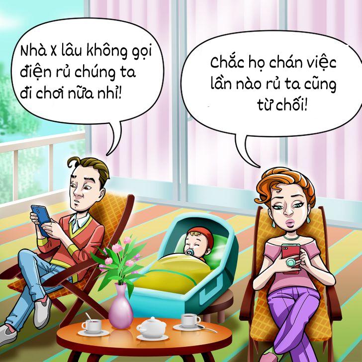 6 vấn đề vợ chồng phải đối mặt sau khi sinh con
