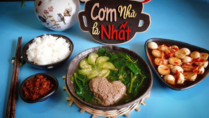 Với hương vị đặc trưng thơm ngon, đây là món ăn kích thích vị giác, dễ tiêu hóa và phù hợp cho những ngày hè nóng nực. Ảnh: Bùi Thủy.