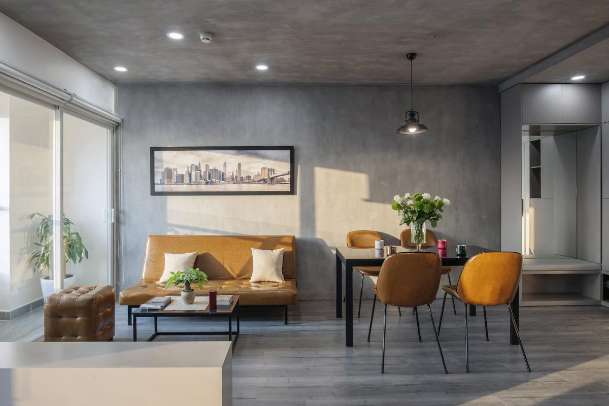 Không gian 'biến ảo' trong căn hộ 65 m2
