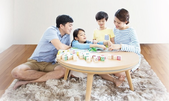 Độ ẩm phù hợp giúp đảm bảo sức khỏe cho mọi thành viên, bảo vệ nội thất.