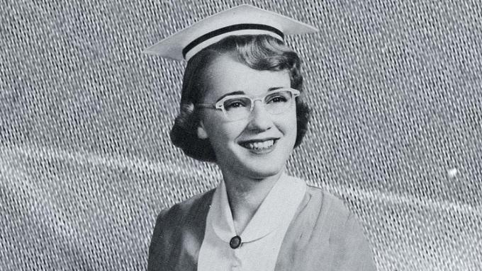 Bà Evelyn Marie Lutz khi còn trẻ. Ảnh: University of Rochester School of Nursing.