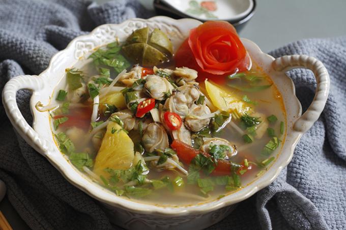 Theo Đông y, thịt ngao có tính hàn, vị ngọt mặn, có công dụng giải độc, tiêu khát, lợi thủy. Ảnh: Bùi Thủy
