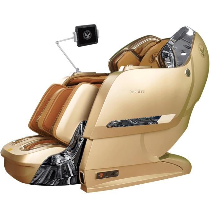Ghế massage Dr.Care Xreal DR-XR 929S có kích thước 170 x 85 x 90 cm; công nghệ sơn 6 lớp, với 5 lớp sơn chính và một lớp sơn phủ bóng bảo vệ. Dr.Care Xreal DR-XR 929S dùng bảng điều khiển không dây, tiện lợi và trang bị giá đỡ máy tính bảng, phù hợp để người dùng vừa massage vừa giải trí trên điện thoại, iPhone, iPad.  Xreal DR-XR929S thực hiện được nhiều động tác massage cùng lúc, cảm giác như các ngón tay tỉ mỉ chăm sóc từng phần nhỏ trên cơ thể, kích thích khơi dậy các giác quan, xua tan mệt mỏi, giúp thư giãn toàn thân. Sản phẩm có giá 219 triệu đồng.