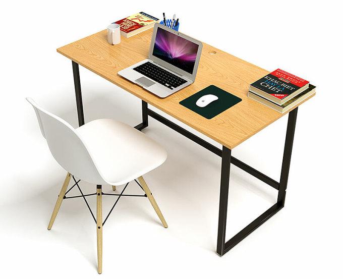 Bộ bàn Oak-Z vân sồi và ghế Eames đang bán với giá ưu đãi 1.395.830 đồng. Bàn dài 120 cm, rộng 60 cm, cao 75 cm. Mặt bàn bằng gỗ tự nhiên, dày 18 ly, sơn lót nhiều lớp, sơn phủ PU và 2K hai mặt, hoa văn vân sồi. Trên mặt bàn đục sẵn lỗ thông dây điện. Khung bàn bằng sắt dầy 1,4 ly, sơn tĩnh điện, thiết kế chân gập thông minh, tiết kiệm không gian. Ghế Eames có mặt và lưng tựa bằng nhựa, chân gỗ, khung thép. 2.210.000đ1.395.830đ(- 37 %)