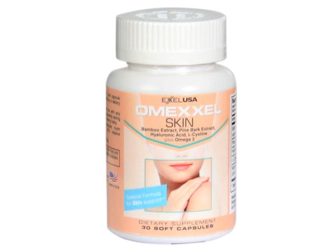 Viên uống trắng da, giảm thâm nám Omexxel Skin 30 viên đang ưu đãi 27% còn 329.000 đồng.