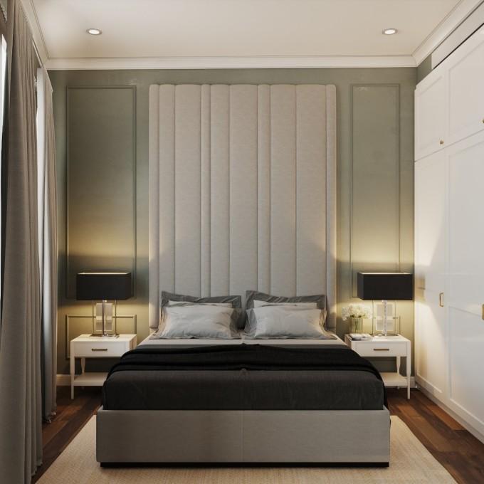 ...và phòng ngủ dành cho người lớn tuổi. Việc bố trí này phù hợp với sức khỏe của người lớn tuổi, ngại leo cầu thang cao.