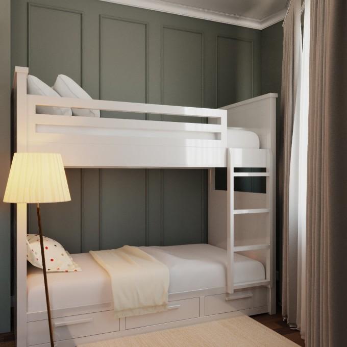 Lầu 4 gồm một phòng ngủ dành cho trẻ em...