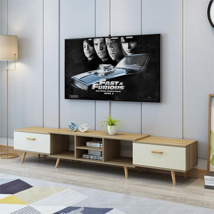 Kệ tivi để sàn tự thay đổi kích thước thương hiệu igea (mẫu lớn) - gp83 - Gỗ823.000đ (- 41 %) Kích thước: Thay đổi tự động thông minh theo không gianChất Liệu: Gỗ MDF nhập khẩu phủ melamin cao cấp chống xước chống nước tuyệt đốiĐa công năng: Để đầu thu, Wifi, loa, thiết bị điện tử, đồ trang trí thỏa mái. Lắp được cả phòng khách và phòng ngủ.