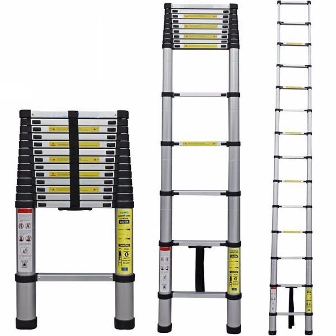Thang nhôm rút gọn Kachi dài 2,9 m, hiện có giá giảm 16% còn 1,599 triệu đồng (giá gốc 1,9 triệu đồng). Thang có kích thước mở rộng đến 2,9 m và rút gọn còn 79 cm, dễ dàng mang theo và cất giữ khi chưa dùng đến. Chất liệu hợp kim nhôm 6063 hạn chế gỉ sét. Đầu thang có bọc cao su chống trơn trượt, các nấc thang có nút khóa giúp điều chỉnh độ dài, ngắn của thang dễ dàng.