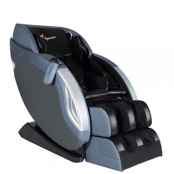 Ghế massage Elip Nobel màu xanh navy có khung bằng thép, một số bộ phận bằng nhựa và bọc da PU. Kích thước 140 x 80 x 103 cm không chiếm quá nhiều không gian. Ghế có tính năng dò quét tự động huyệt đạo, massage không trọng lực, massage theo công nghệ 3D với các thao tác nhào và gõ, shiatsu và con lăn massage vùng lưng linh động giúp giảm cân thẳng mệt mỏi, thúc đẩy tuần hoàn máu, hỗ trợ điều trị các căn bệnh đau nhức xương khớp. Ghế có thể kết nối với thiết bị di động bằng Bluetooth để phát nhạc qua loa hifi được trang bị sẵn. Giá gốc 55 triệu đồng, hiện ưu đãi 27% còn 39,9 triêu đồng.