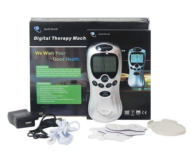 Máy massage trị liệu bốn miếng dán TDS Health Herald có giá chỉ 109.000 đồng, giảm 31% so với giá gốc. Bộ sản phẩm gồm thân máy, củ sạc, cáp sạc, ba pin đi kèm bốn miếng dán và sách hướng dẫn. Máy cơ động giúp massage hàng ngày, tạo cảm giác thư thái, thoải mái và hỗ trợ trị liệu một triệu chứng về xương khớp thông thường. Sản phẩm massage hỗ trợ giảm nhiều loại cơn đau khác nhau gồm: đau lưng, đau thần kinh tọa, đau do chơi thể thao, bong gân...