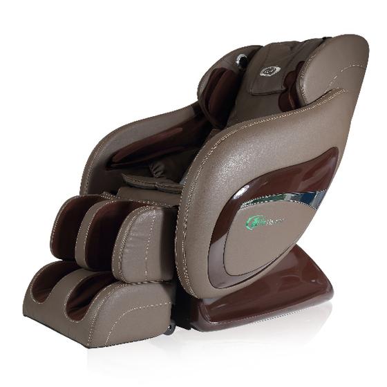 Ghế massage Elip Platinum màu nâu giảm 15% còn 48,5 triệu đồng; trang bị chức năng massage không trọng lực, massage theo công nghệ mới, giúp cơ thể vừa loại áp lực cơ thể vừa có thể trải nghiệm massage tự động được lập trình sẵn, mang đến hiệu quả chăm sóc sức khoẻ.