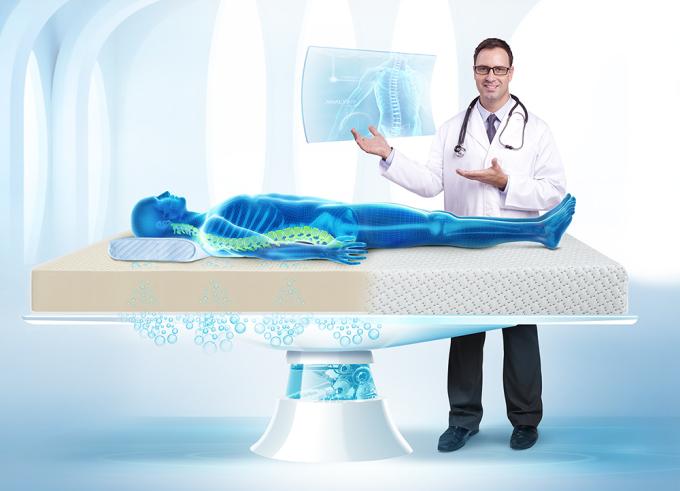Nệm Kymdan được bác sĩ Rodney Rowe – Chuyên gia trong ngành xương và cột sống tại Australia khuyên sử dụng.