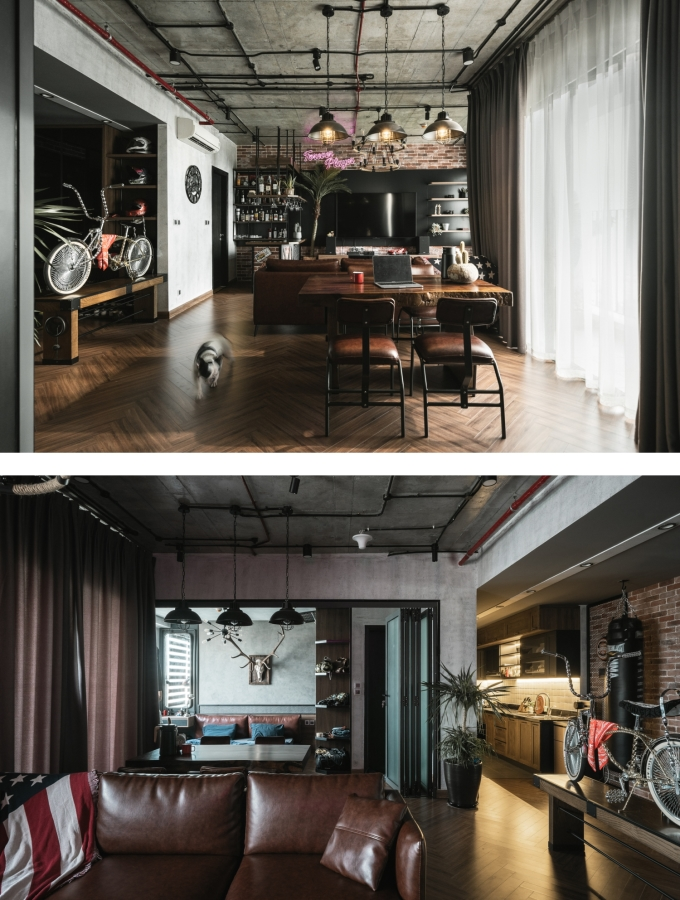Không gian trong căn hộ được thay đổi để phù hợp với tính cách gia chủ.