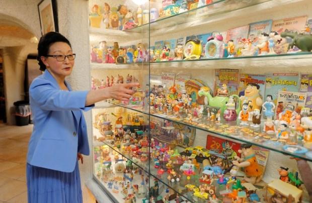 Bà Fang đã mua ngôi nhà làm nơi nghỉ hưu cho mình. Ảnh: Mercurynews.