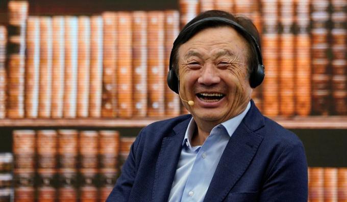 Nhậm Chính Phi - người sáng lập tập đoàn viễn thông lớn nhất Trung Quốc - Huawei. Ảnh: sina.