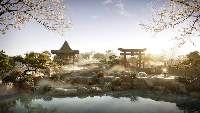 Suối khoáng nóng sắp có mặt tại Ecopark.
