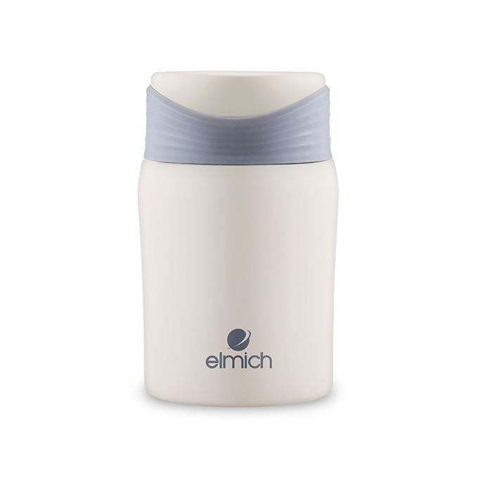 Bình giữ nhiệt Elmich inox 304 700 ml EL3665 có thiết kế trẻ trung, trang nhã với phần thân màu trắng và nắp đậy màu pastel bắt mắt. Cấu tạo vỏ bình 3 lớp với lớp trong cùng là inox 304. Sau 8 tiếng, nhiệt độ trong bình sẽ giảm từ 95 độ C xuống còn 65 độ C, tiếp tục duy trì hơi ấm khi đựng thức uống nóng. Sản phẩm có giá giảm 39% còn 349.000 đồng (giá gốc 575.000 đồng).