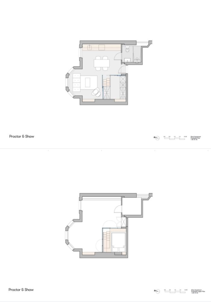 Căn hộ 29 m2 tiện nghi, rộng rãi nhờ 'kén ngủ'