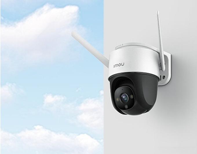 Camera Imou PTZ Cruiser 2M IP WiFi 2M, 2Y WTY-IPC-S22FP giảm 46% còn 1,359 triệu đồng; có khả năng phát hiện con người; cảm biến 1080P; chế độ màu sắc thông minh vào ban đêm; ghi hình toàn cảnh 360 độ; tích hợp còi và đèn chiếu sáng.